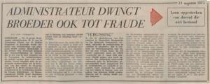 25081973  Bleijerheide  fraude en chantage